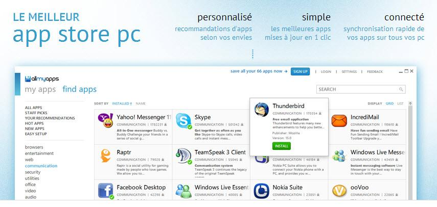 [Outils] AllMyApps, l'AppStore pour PC - Maddyness