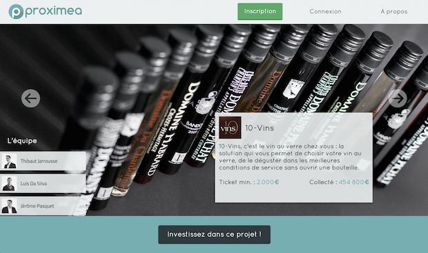 crowdfunding 10 vins