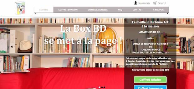 la box bd
