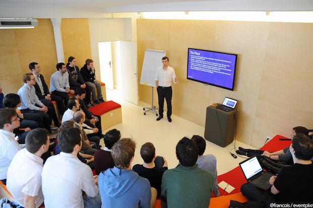 Microsoft Ventures Paris VC