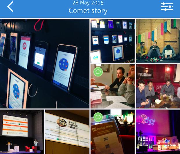 comet story