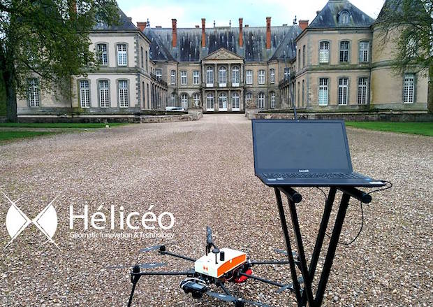 heliceo drones chateau