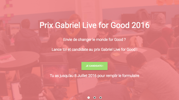 prix gabriel live for good