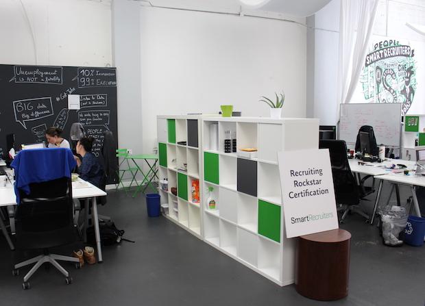 Les bureaux de SmartRecruiters à San Francisco