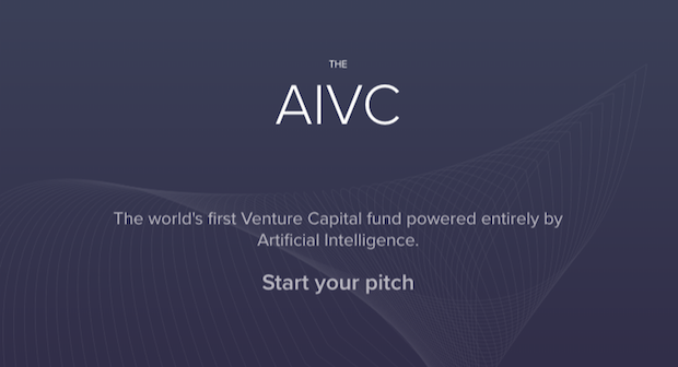 The AI VC - Start Your Pitch