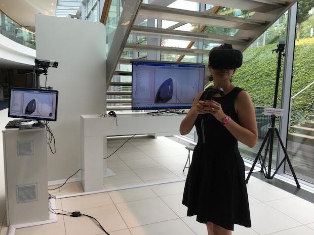 VR 3DExperience Pavillon