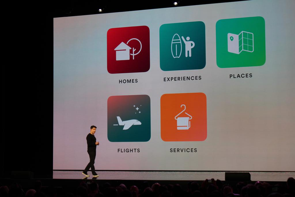 Brian Chesky flights, services