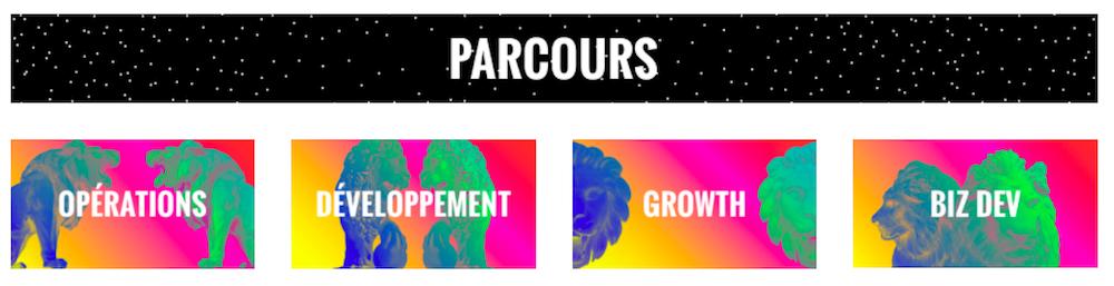 Join Lion - Parcours