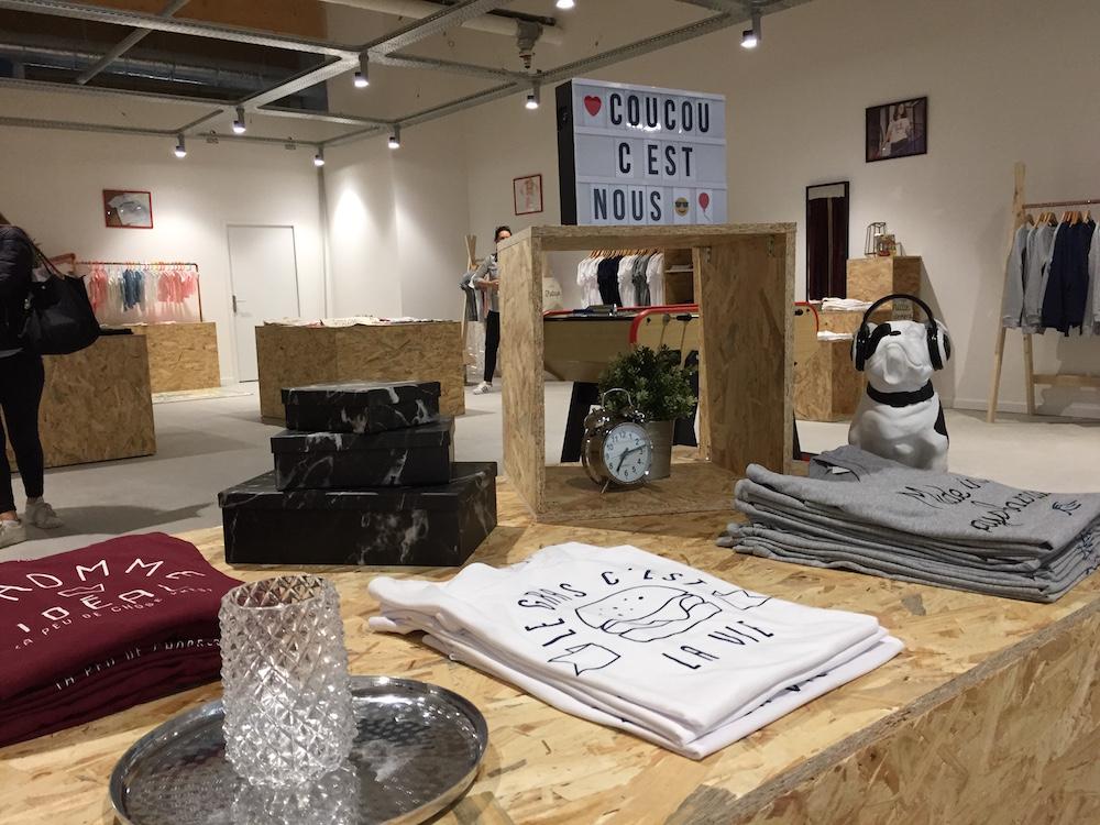 Popup store - MonsieurTshirt