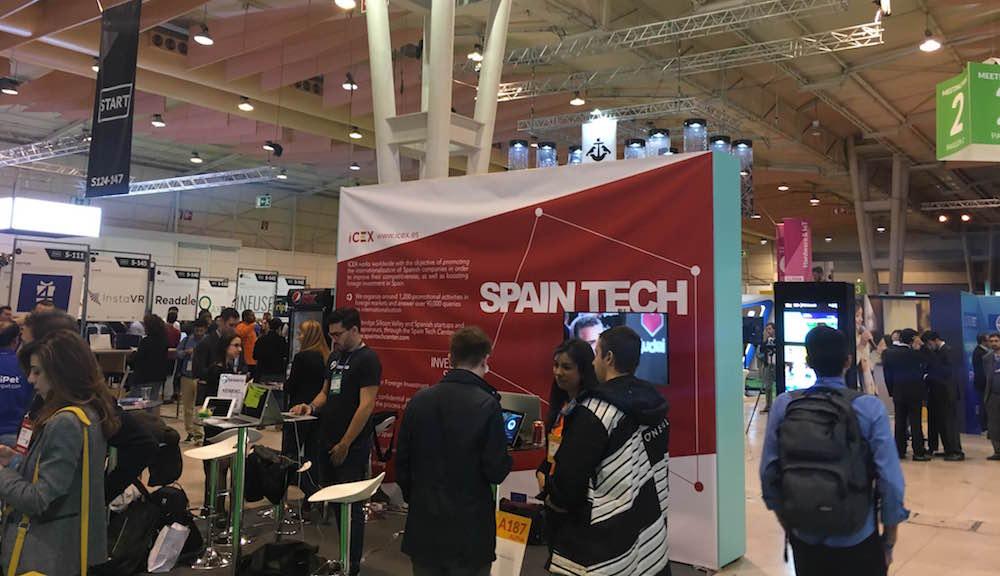 Spain Tech Web Summit Lisbonne