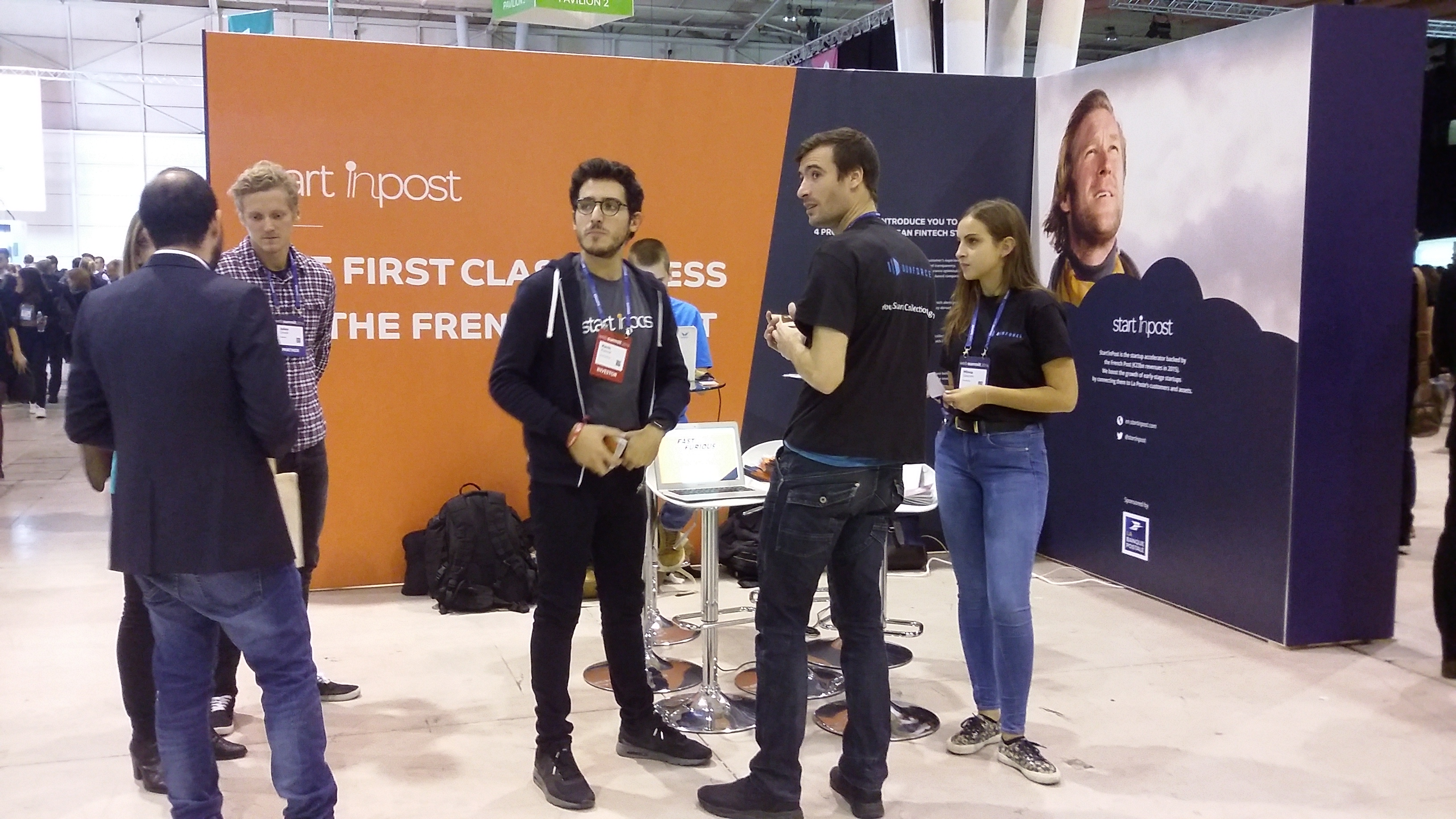 Startinpost WebSummit Lisbonne