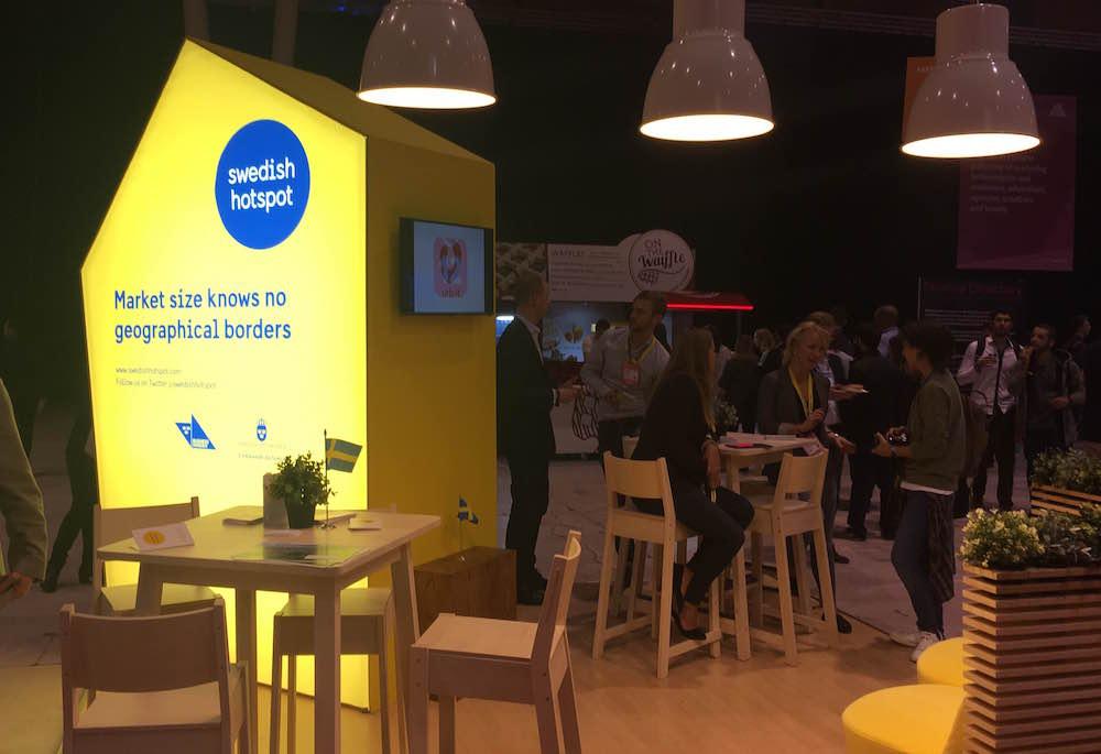 Swedish Hotspot Web Summit Lisbonne