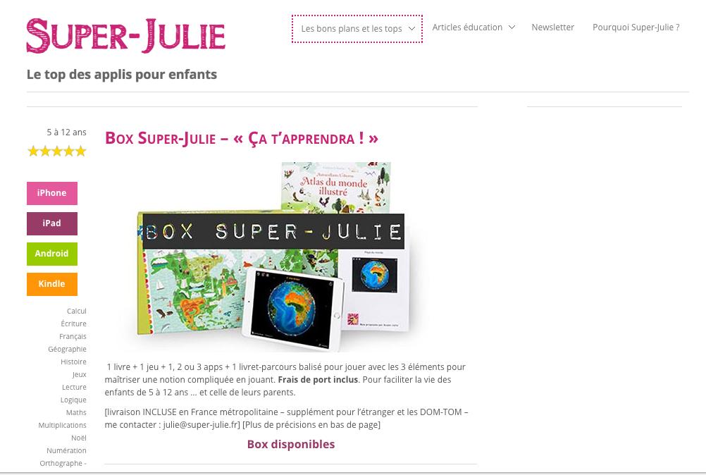 super julie