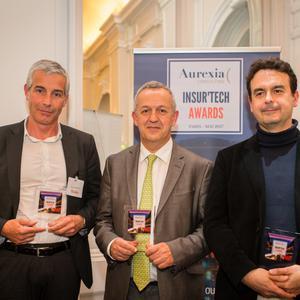 Trois jeunes pousses ont remporté un accompagnement personnalisé par Aurexia à l'issue des Insur'Tech Awards.
