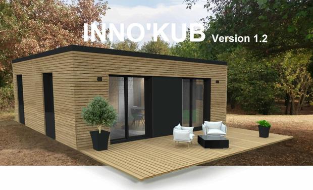 france habitat inno kub la maison modulable qui s adapte vos besoins et vos envies. Black Bedroom Furniture Sets. Home Design Ideas