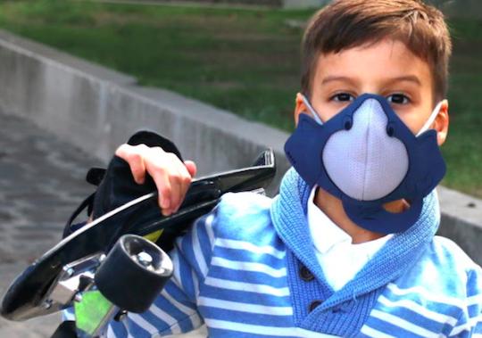 anti pollution masque enfant