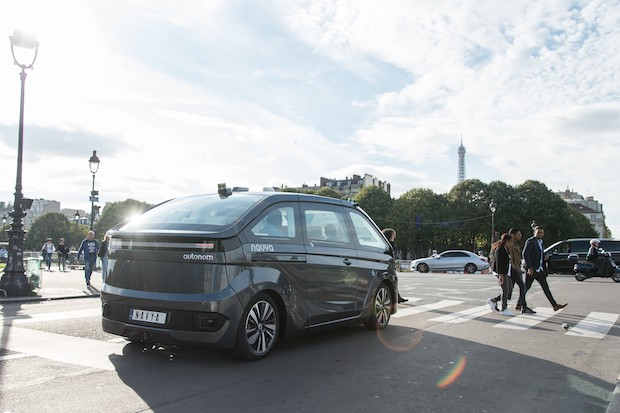 Autonom Cab