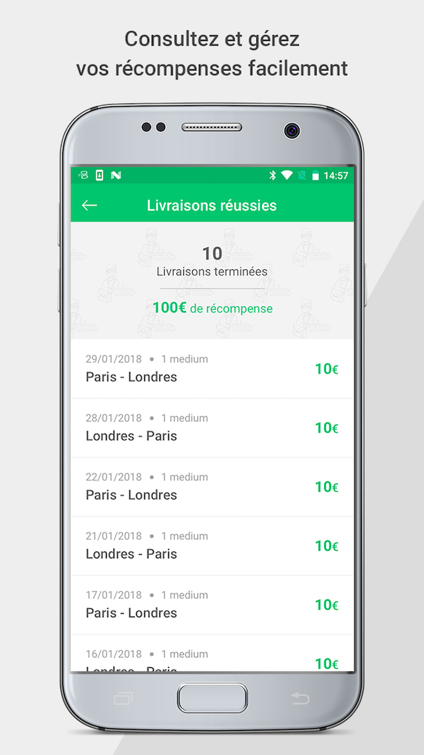 livingpackets app