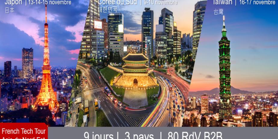French Tech Tour Asie du Nord-Est