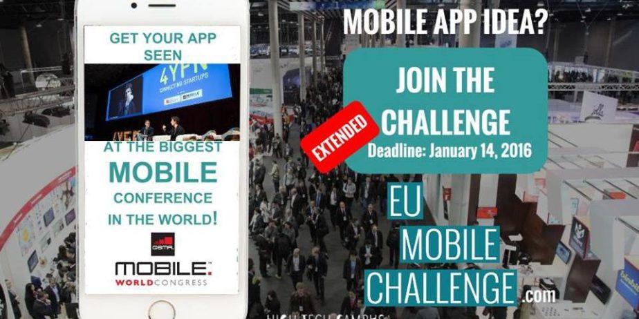 EU Mobile Challenge – Compétition d'applications mobiles