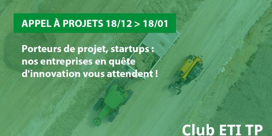 Appel à projets Club ETI TP