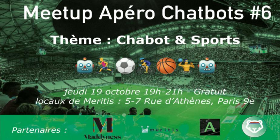 Apéro Chatbots #6 spécial Sport