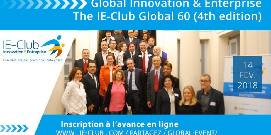 Global Innovation & Enterprise : The IE-Club Global 60 (4th edition)