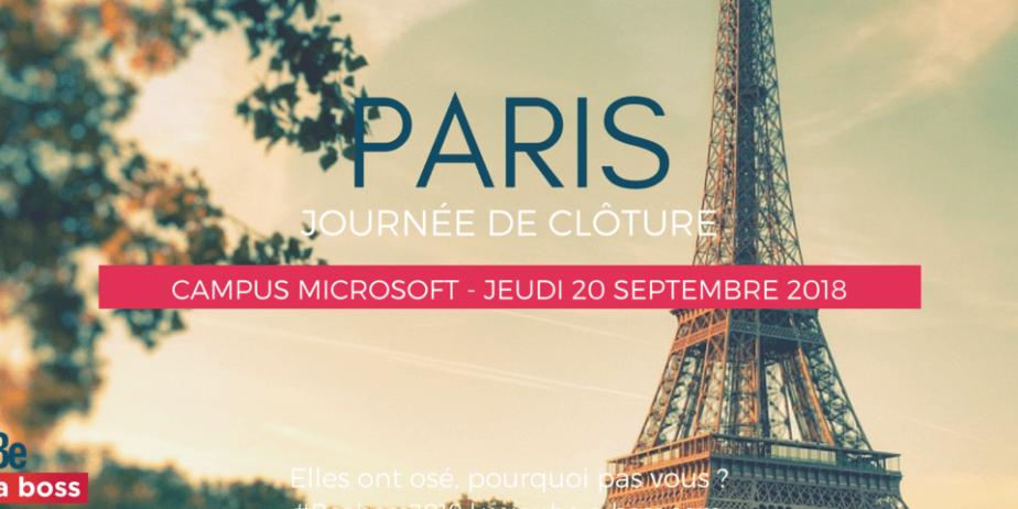 Journée de clôture – Be a boss Paris
