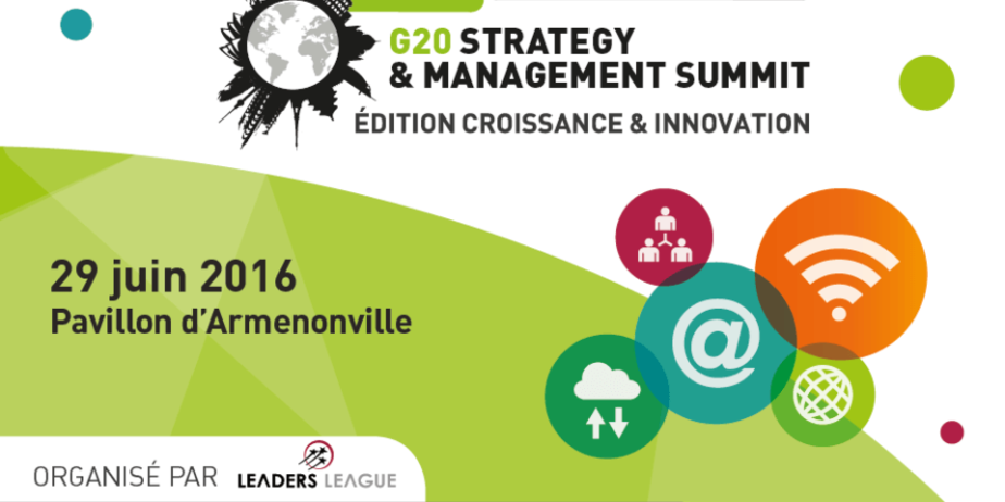 G20 Strategy & Management Summit édition Croissance & Innovation