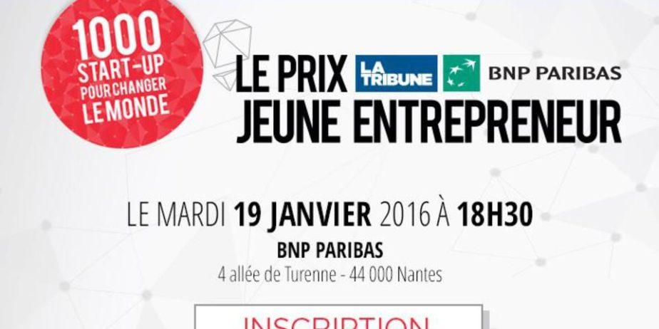 Prix La Tribune BNP Paribas Jeune Entrepreneur [Ouest]