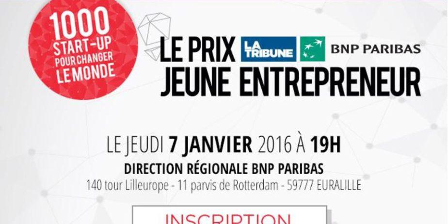 Le Prix La Tribune BNP Paribas Jeune Entrepreneur [Nord-Est]