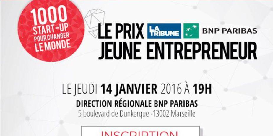 Prix La Tribune BNP Paribas Jeune Entrepreneur [Sud-Est]