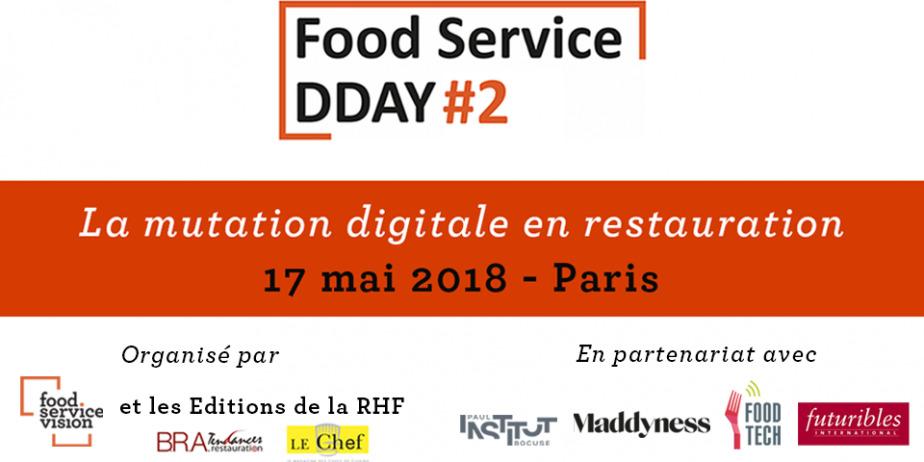 Convention sur la mutation digitale en food service - Food Service DDAY #2