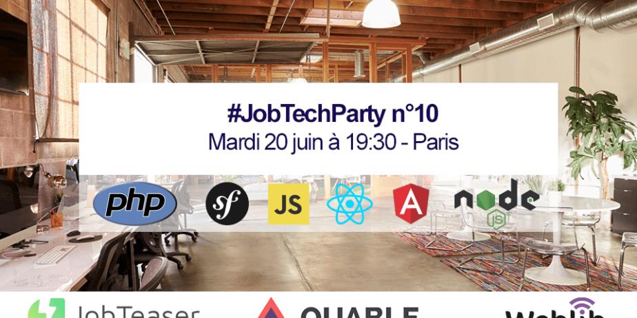 La JobTech Party, la soirée recrutement plébiscitée par la FrenchTech et les meilleurs développeurs du marché