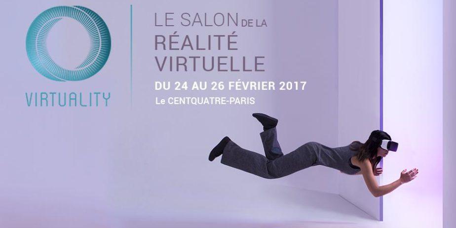 Virtuality – Salon de la réalité virtuelle 2017