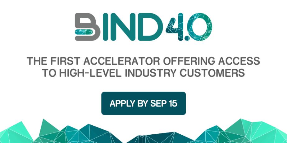 Bind 4.0 Programme d'accélération
