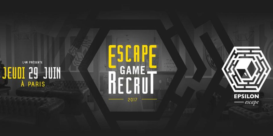 Escape Game Recrut Paris