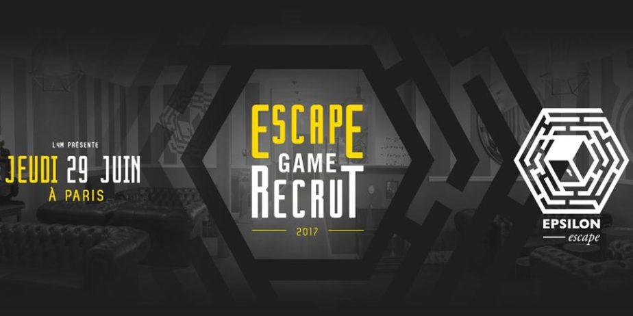 Escape Game Recrut Paris