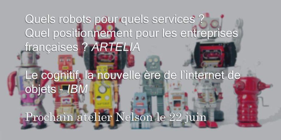 La robotique de service – Artelia et le cognitif dans l'IoT – IBM