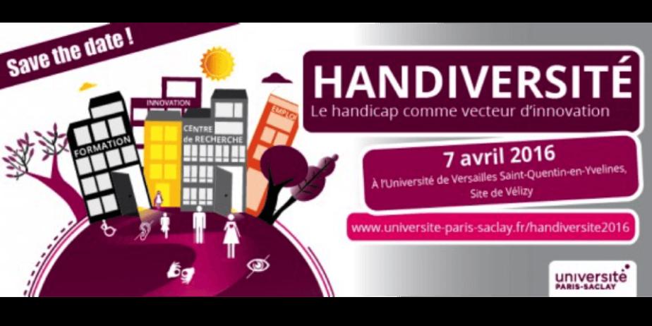 Colloque Handiversité – Le handicap un vecteur pour l'innovation ?