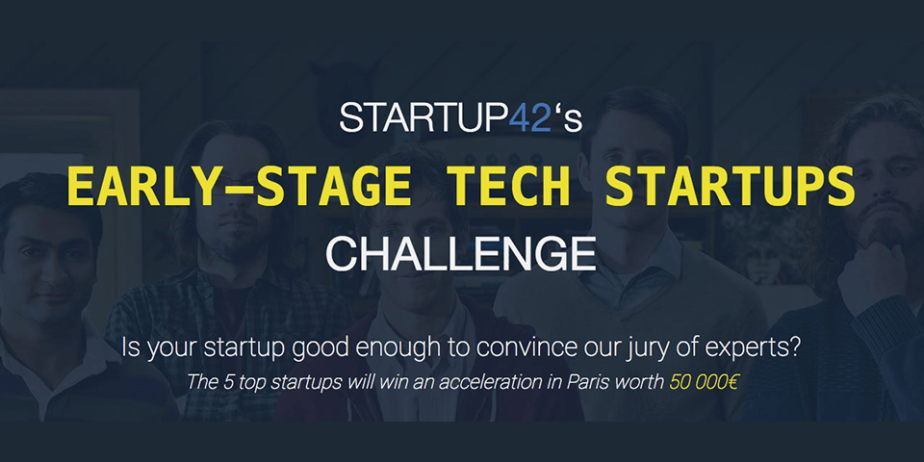 Startup42's Early Stage Tech Startups Challenge