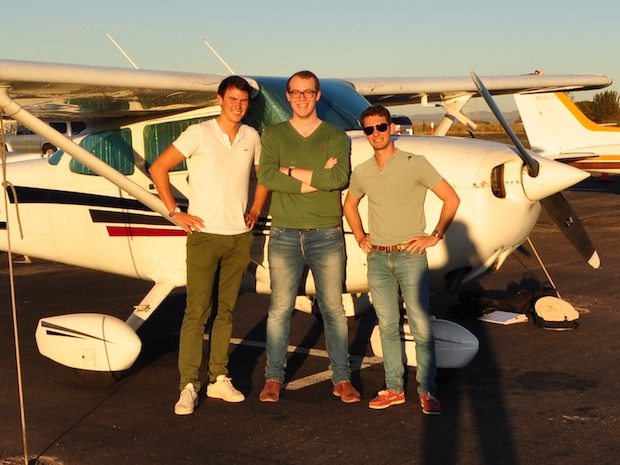 Wingly co-fondateurs (Emeric, Lars, Bertrand)