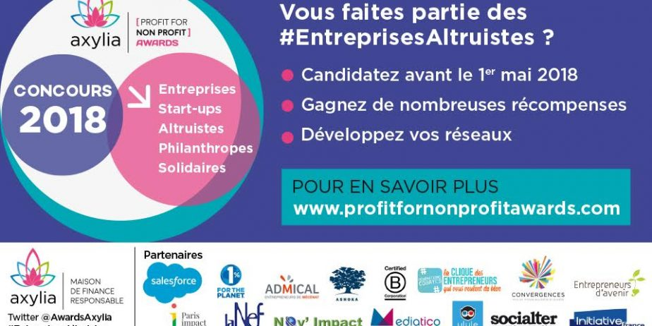 9è EDITION DU CONCOURS  [profit for Non Profit] AWARDS
