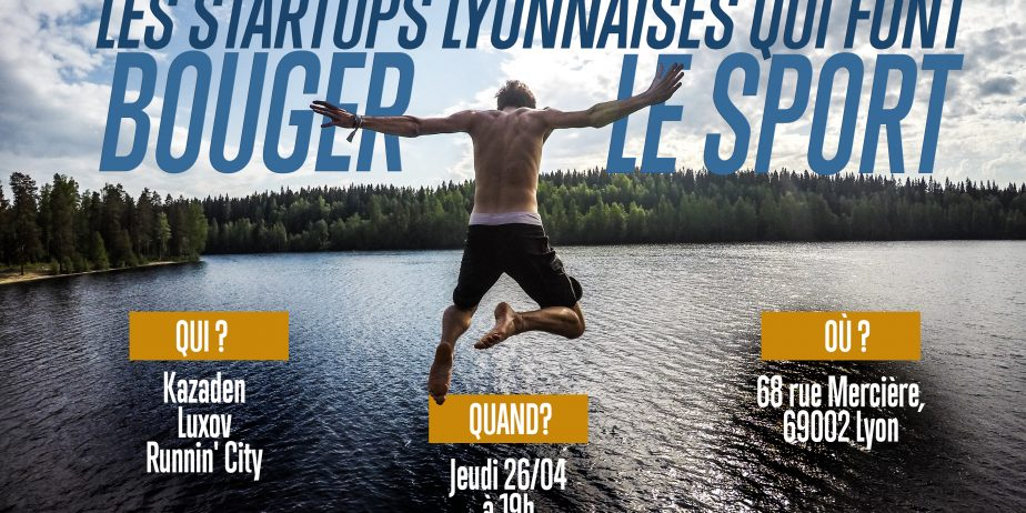 Les startups lyonnaises qui font bouger le sport