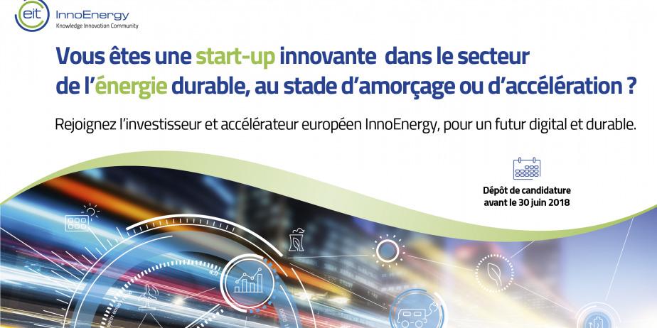 Appel à start-ups dans l'énergie - Pour un futur digital et durable