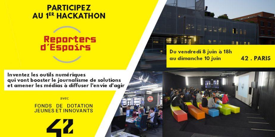 1er hackathon du journalisme & des médias de solutions