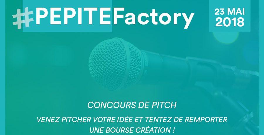 Concours de Pitch - PEPITE Factory