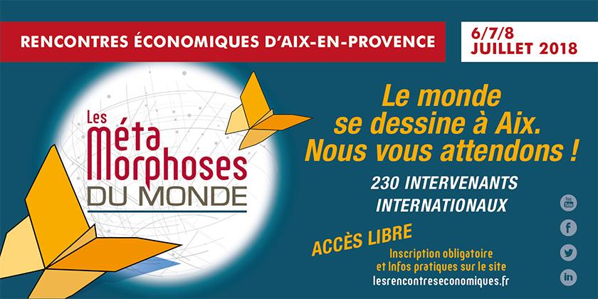 Les Rencontres Economiques d'Aix-en-Provnce 2018