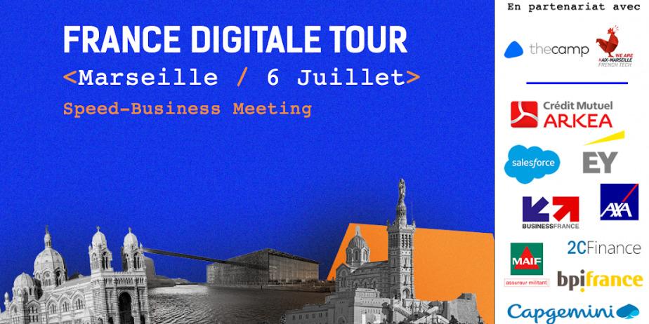 France Digitale Tour Aix-Marseille