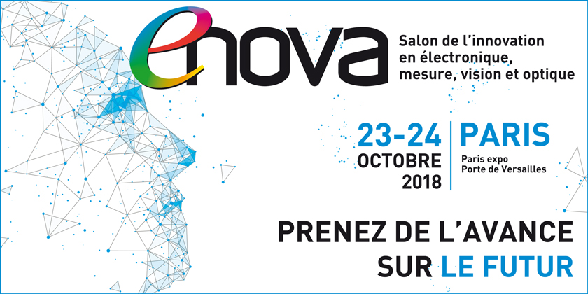 Enova Paris, le salon de l'innovation en électronique, mesure, vision et optique